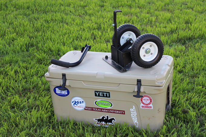 the best wheel kits for yeti cooler
