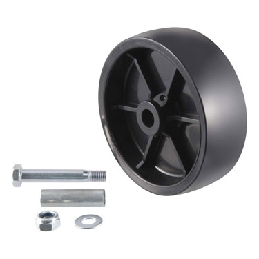 CURT 6 Inch Replacement Boat Trailer Jack Wheel
