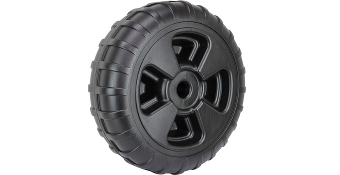 Extreme Max Heavy Duty Plastic Wheel
