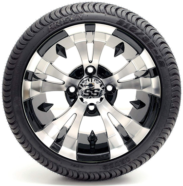 Golf Cart 12 Vampire SS Black Tires