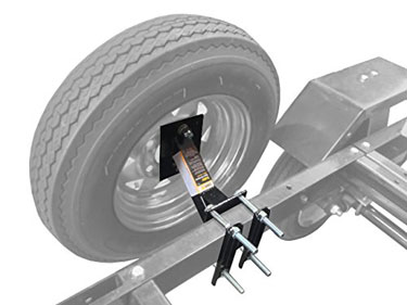 MaxxHaul Powder Coat Trailer Spare Tire Carrier