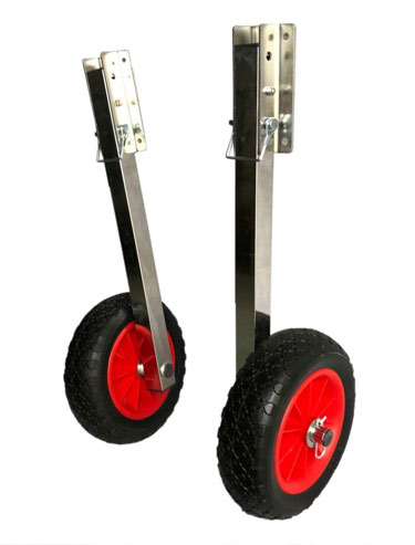 Prairie Metal Deluxe Boat Launching Wheels