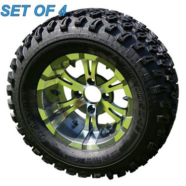 Vampire All Terrain Golf Cart 12 Tires